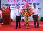 Trường THCS Nguyễn Lương Bằng: Gặp mặt kỉ niệm 36 năm ngày Nhà giáo Việt Nam 20/11